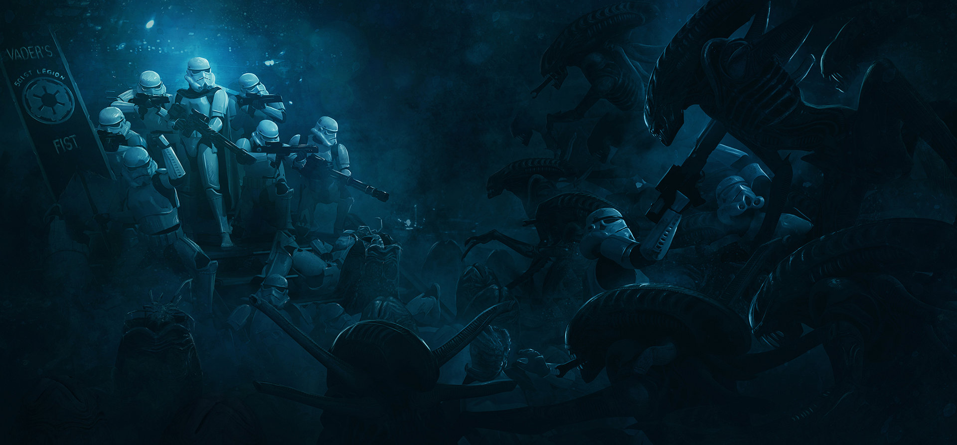 Guillem h pongiluppi guillemhp 501 legion stormtroopers vs aliens