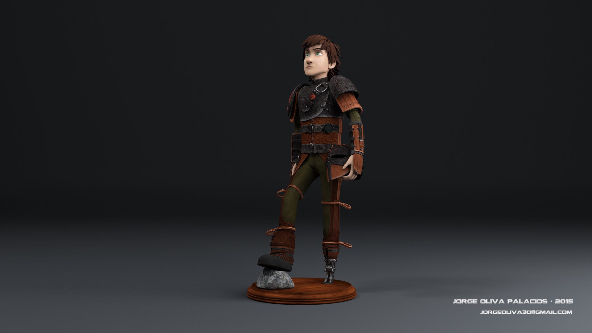 Jorge Oliva Hiccup How To Train Your Dragon 2 Fanart