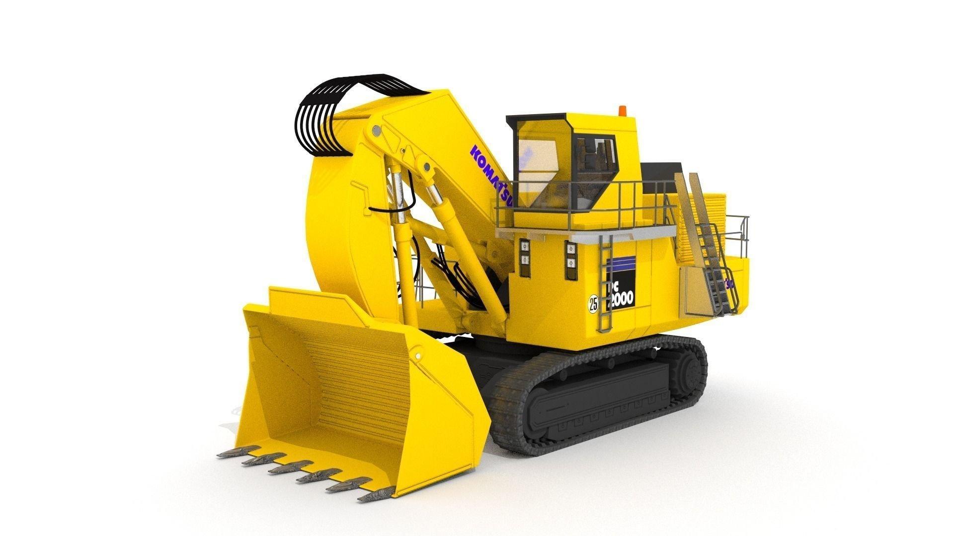 Komatsu PC2000-8 Excavator