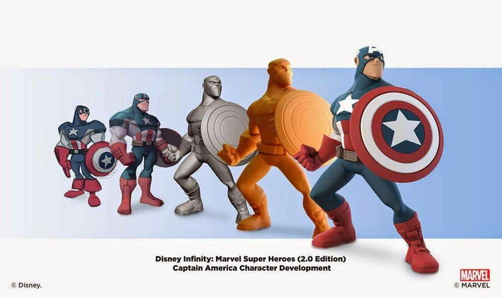 Captain America modeled by BAllen