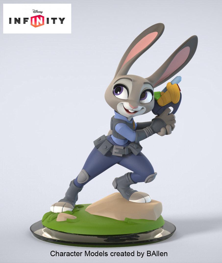 Judy Hopps Character Model by BAllen