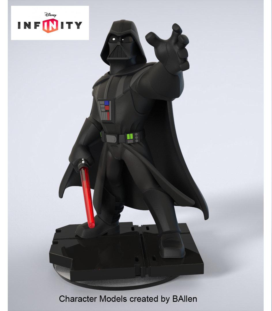 Darth Vader Character Model by BAllen