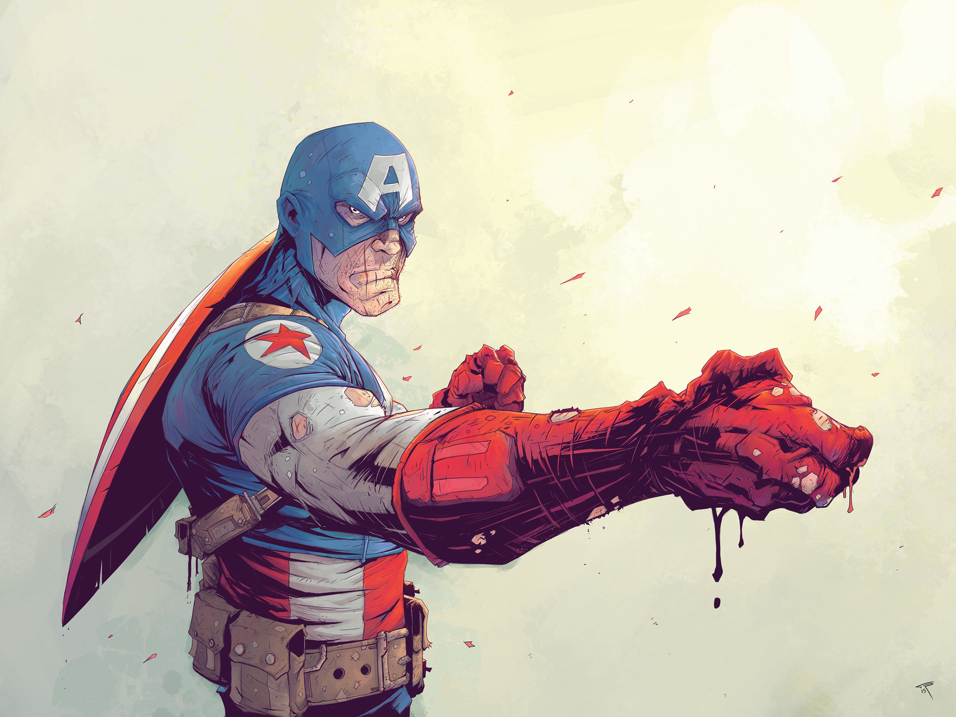 Tonton revolver captain america ld