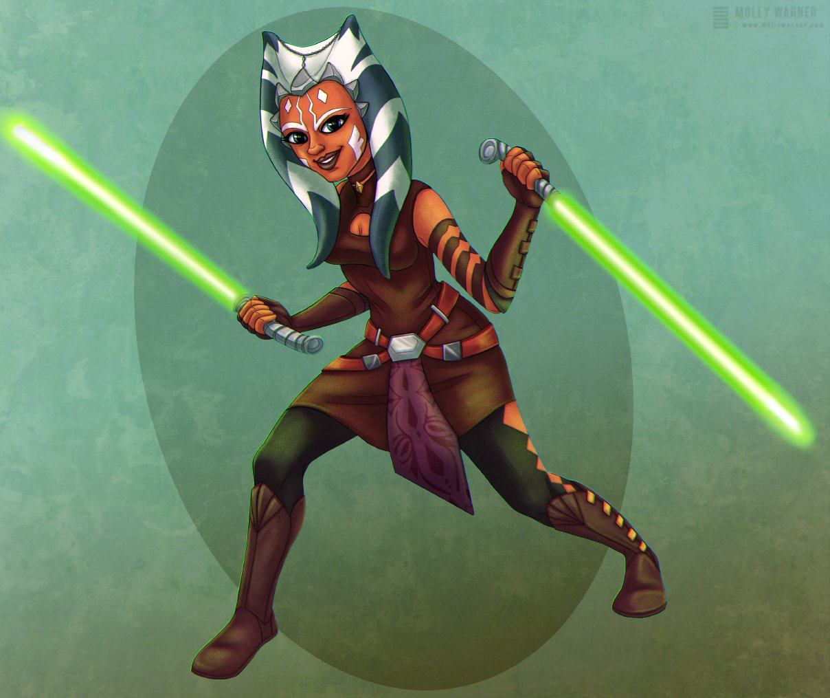 Molly warner ahsoka tano