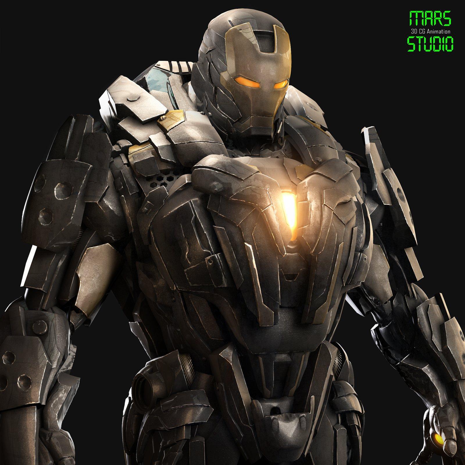 Tony Stark_Iron Tank