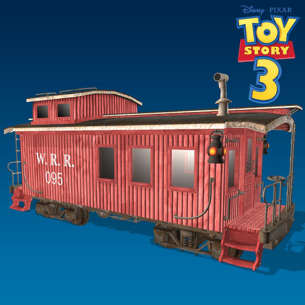 B allen train caboose
