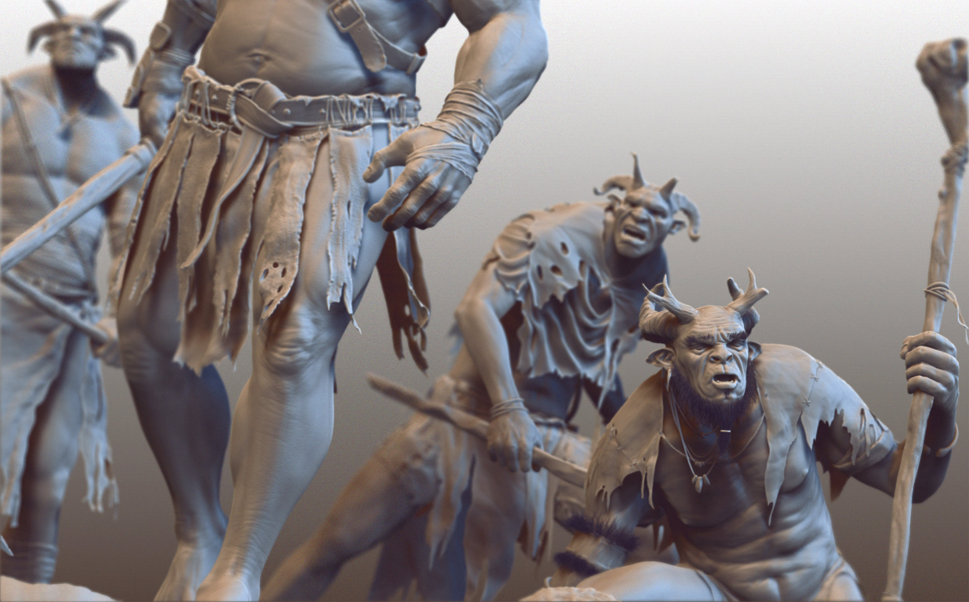 Anthony guebels tribe zbrush gang
