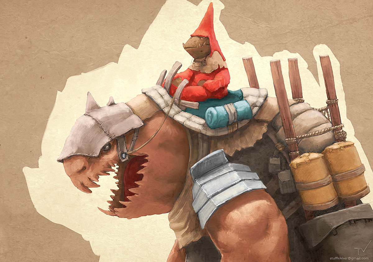 Thijs de vries goblin merchant