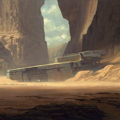 Desert Wreck