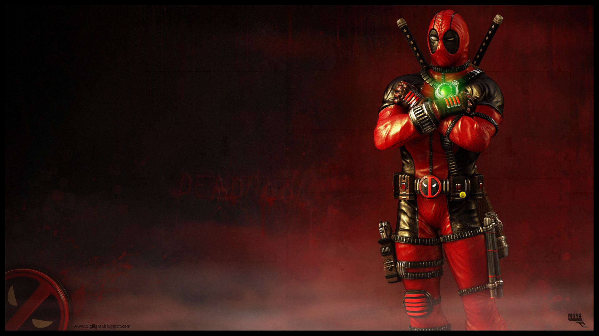Marc mons deadpool 3d by marcmons007 d5ob5ey