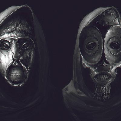 Denys tsiperko masks 1