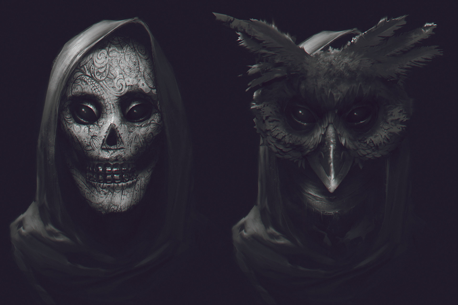 Denys tsiperko masks 3