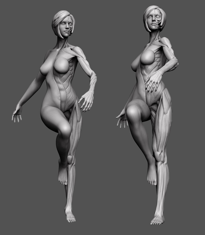 Nude animated female body naked fuck nude