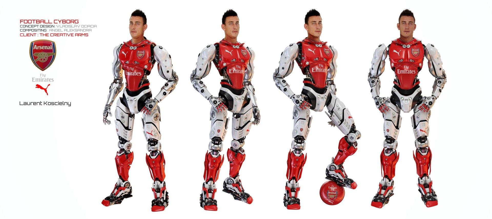 Vladislav ociacia football robot laurent koscielny 3