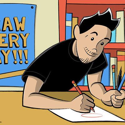 Ismael alejandro moreno ozuna iamo draw every day