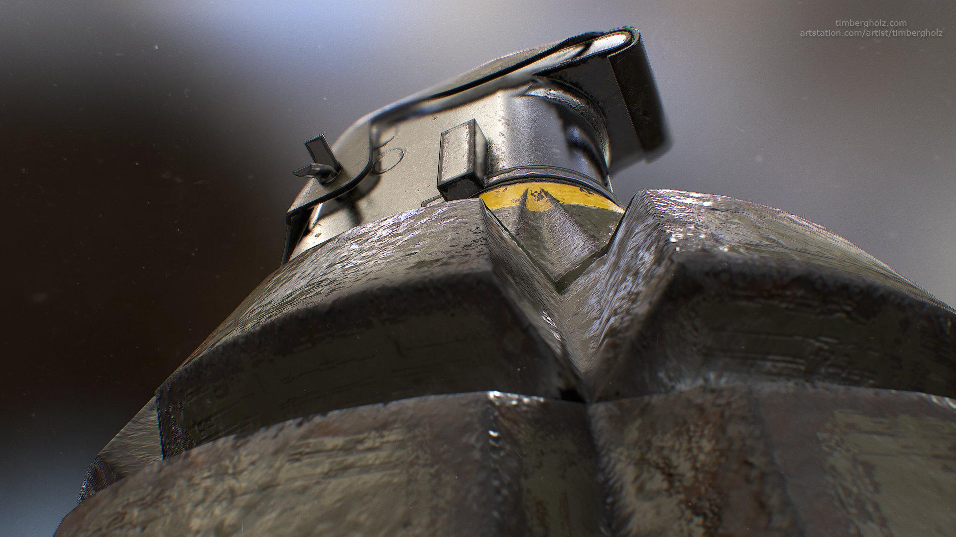 Tim bergholz mk2 grenade render 7