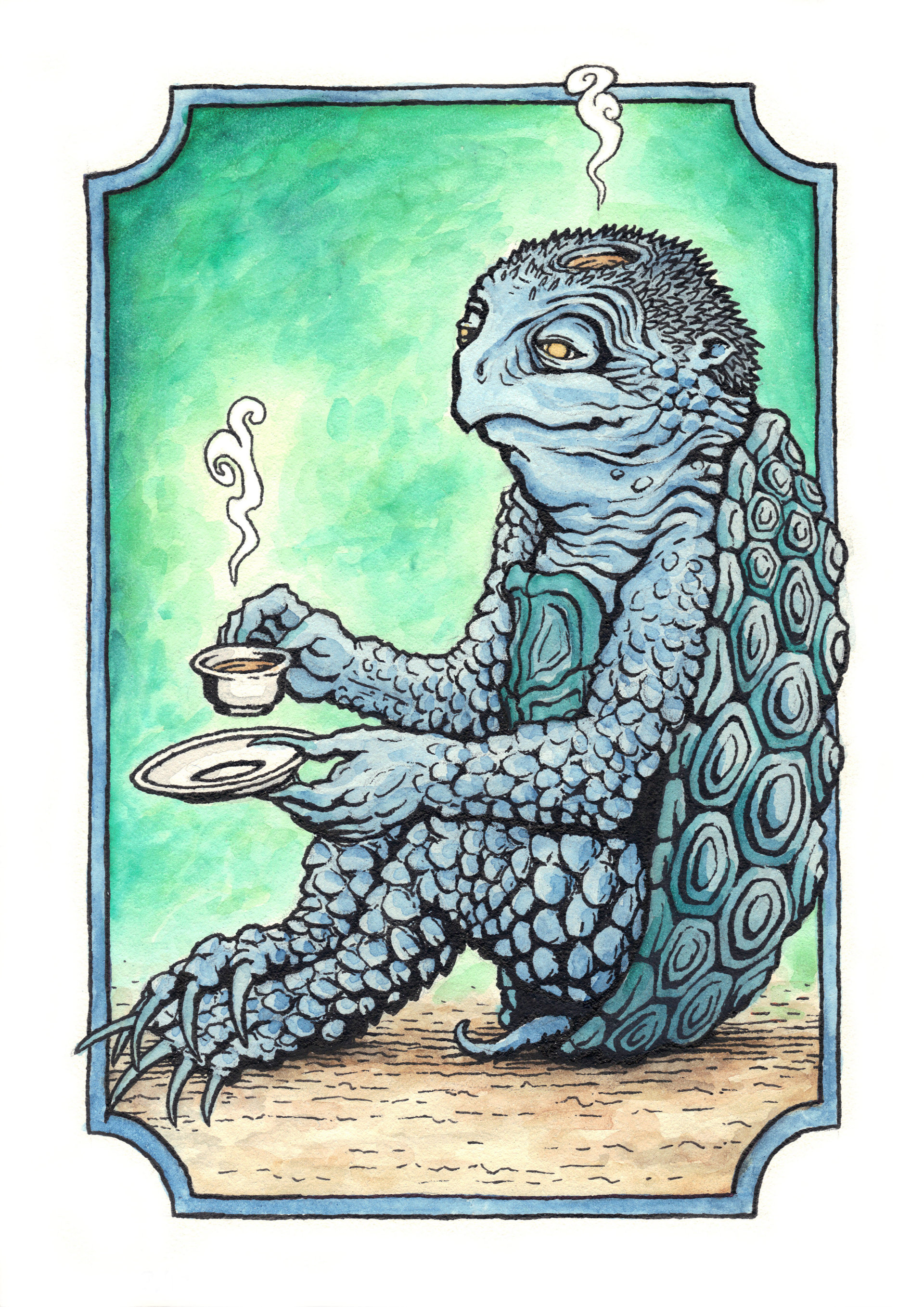 Patrick weck kappa tea watercolor2