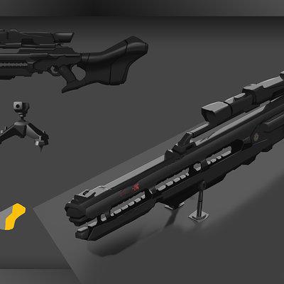 Miguel blanco sniper rail gun09