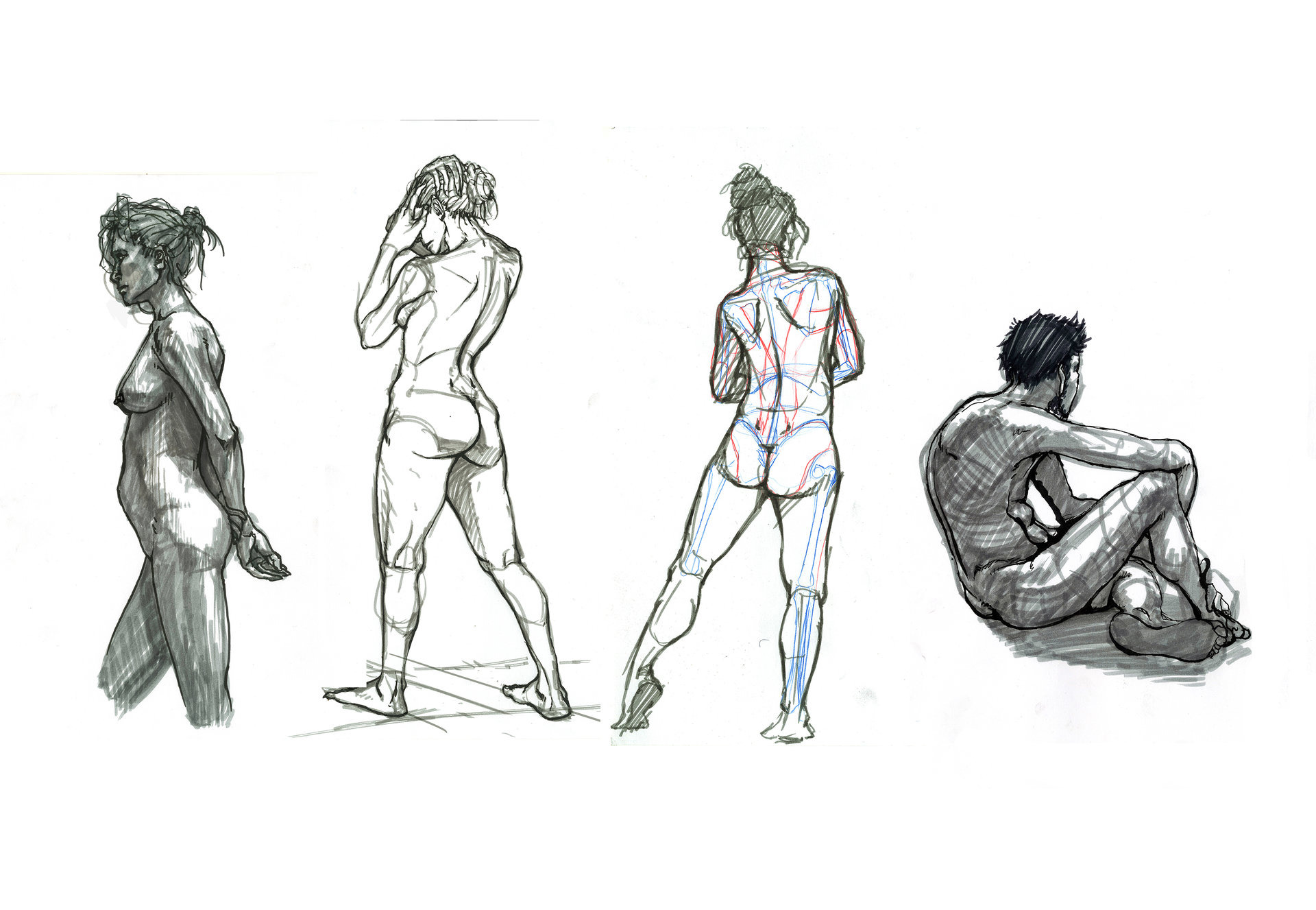 10 minutes poses.