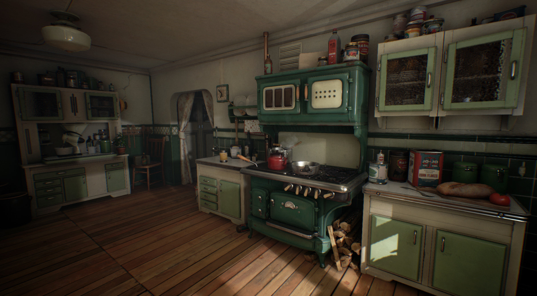 ArtStation Kitchen 1930 UE4 Micha Kubas