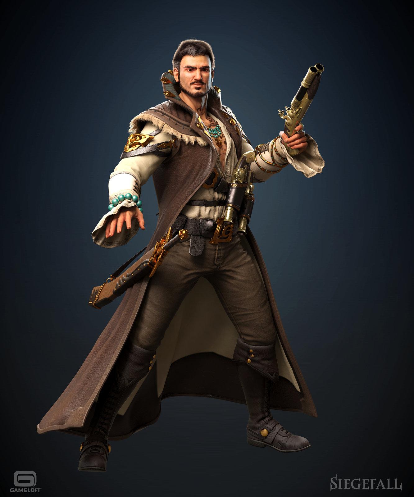 Siegefall - Captain Mandroza