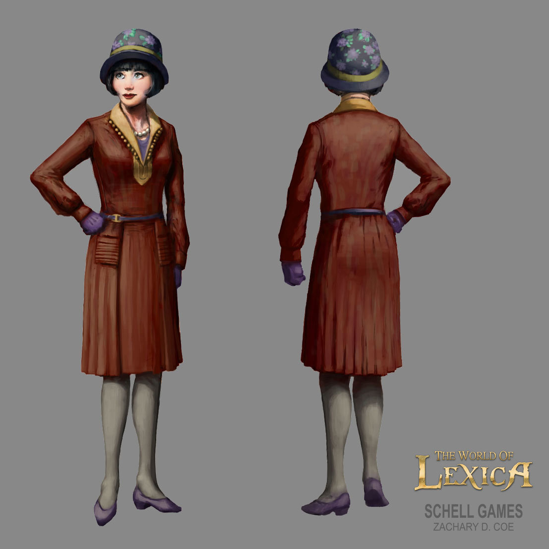 TUPPENCE COWLEY Final Concept Design by Zachary D. Coe