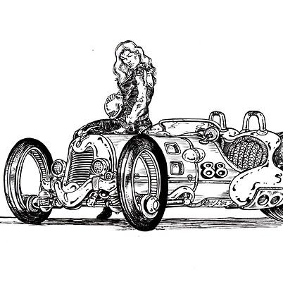 Racer-Inktober  #04