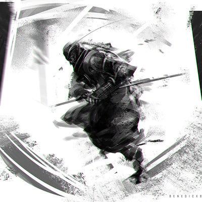 Benedick bana shadow ninja2 lores