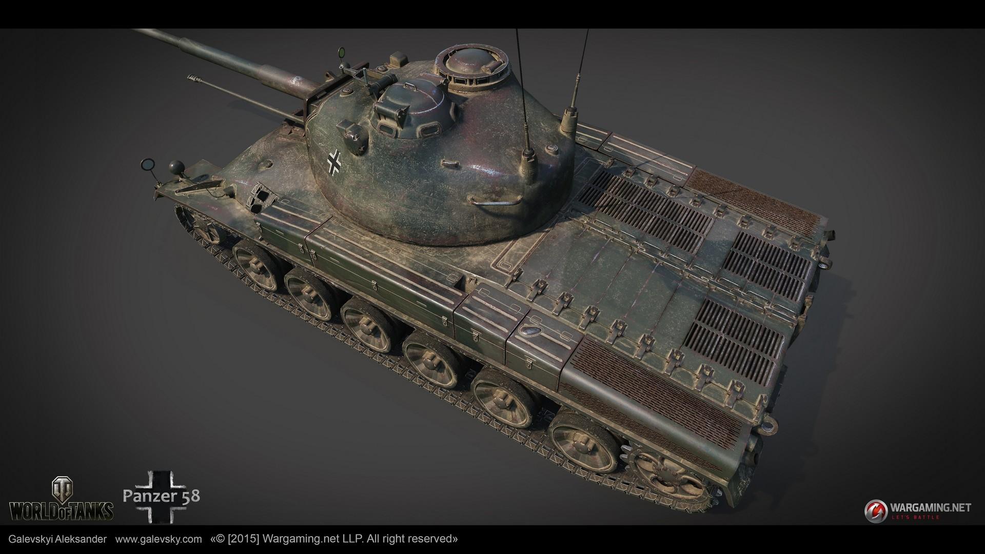 Aleksander galevskyi panzer 58 12 med