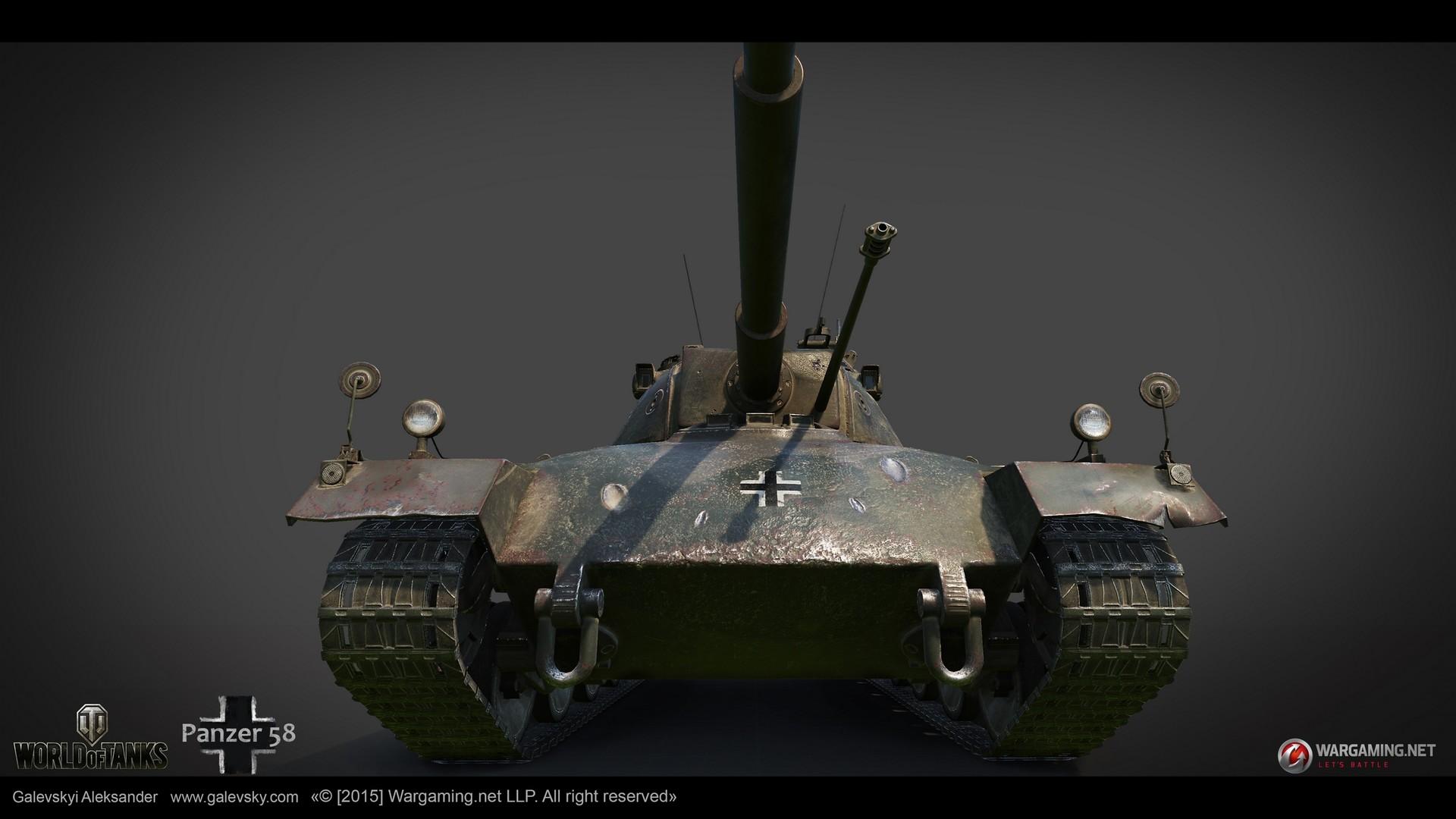 Aleksander galevskyi panzer 58 03 med