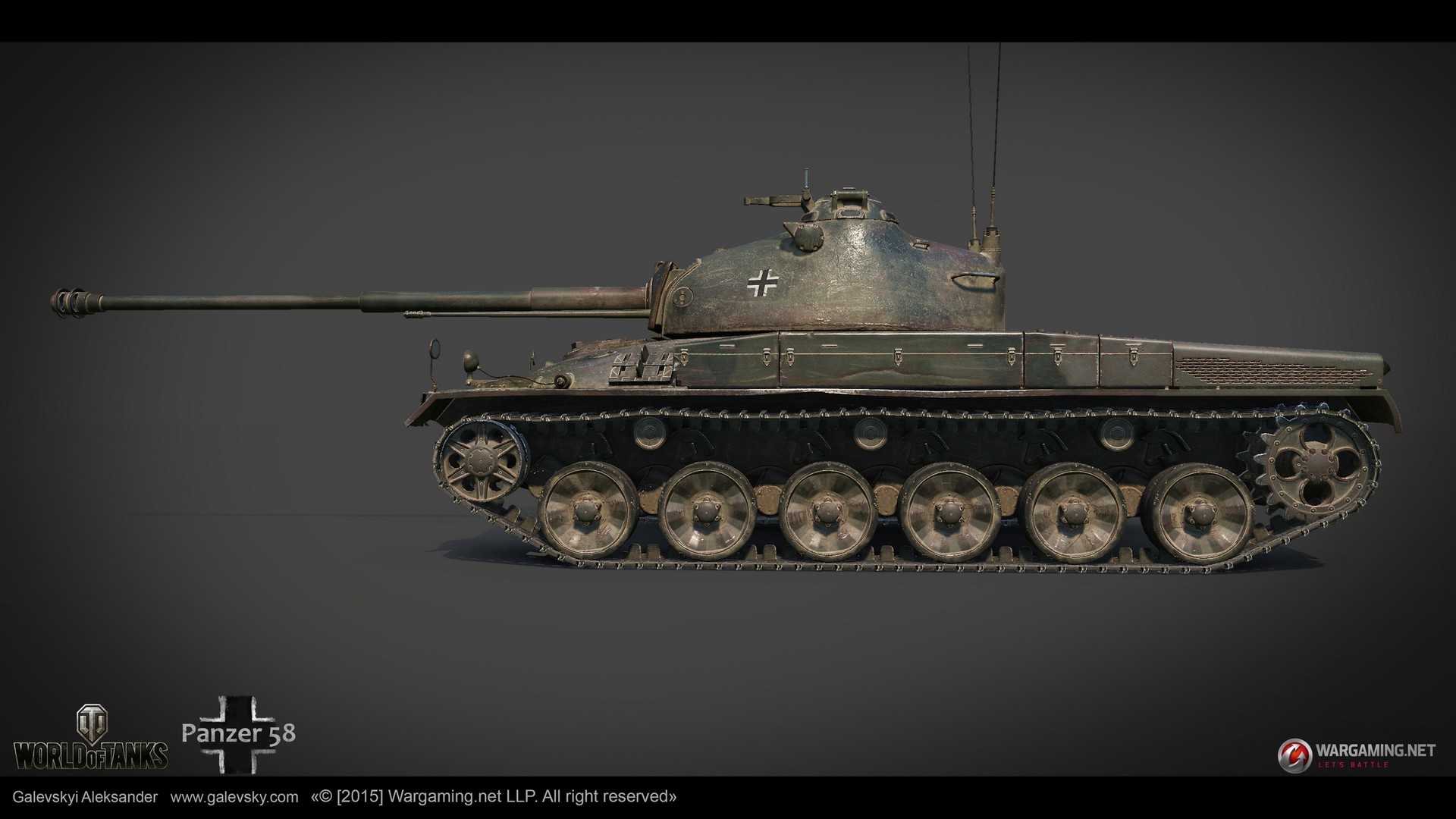 Aleksander galevskyi panzer 58 04 med
