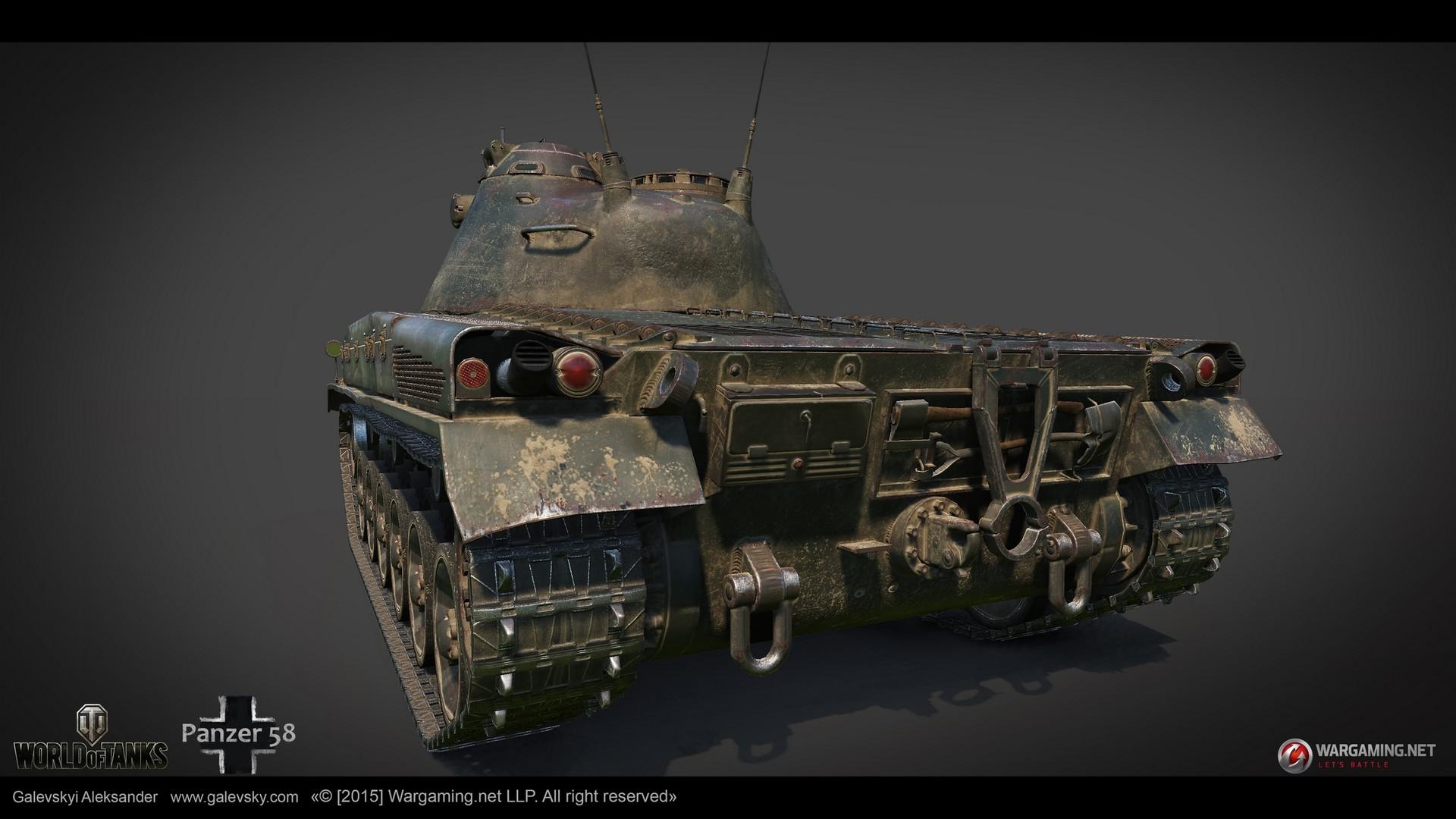 Aleksander galevskyi panzer 58 06 med
