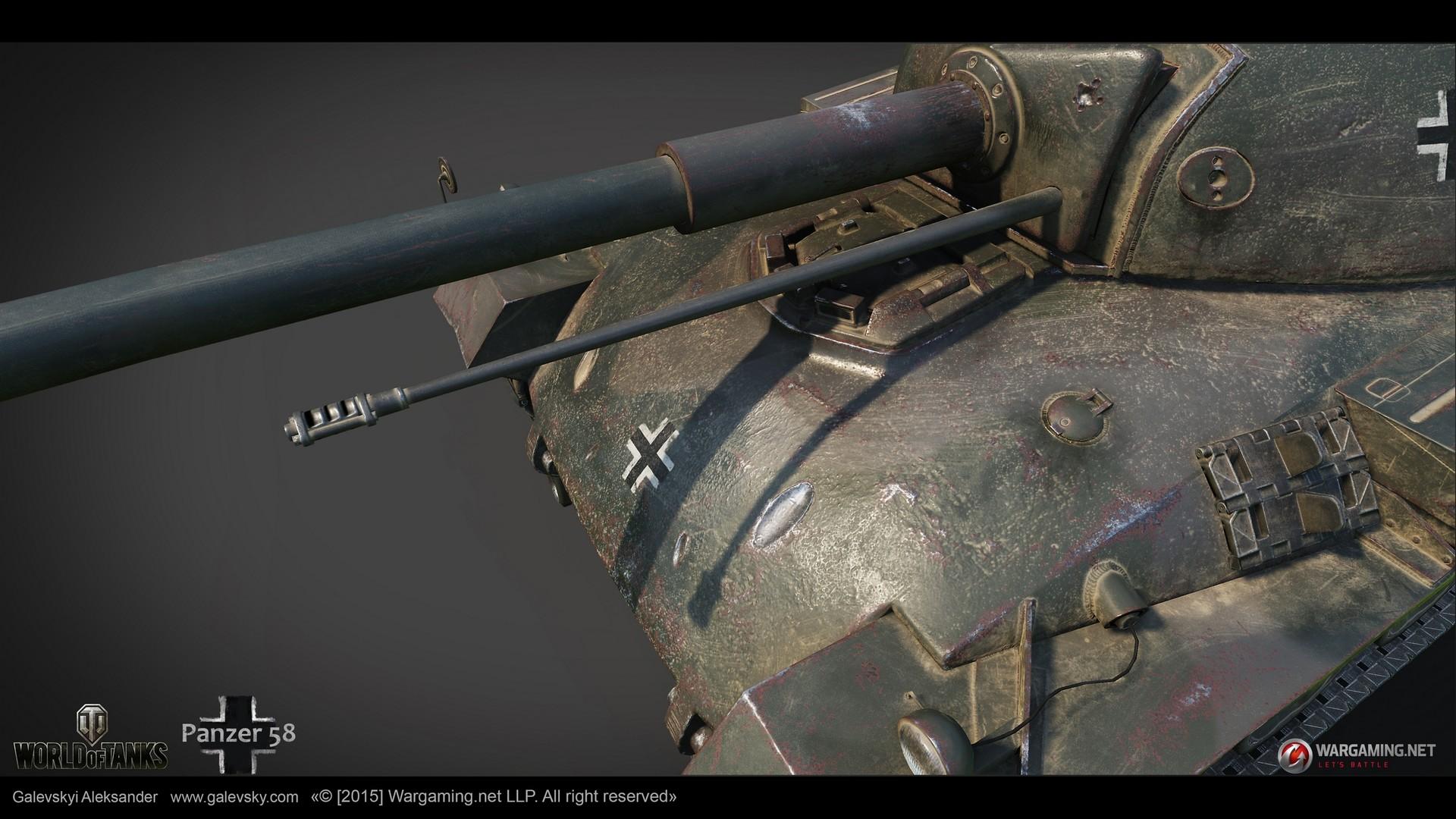 Aleksander galevskyi panzer 58 08 med