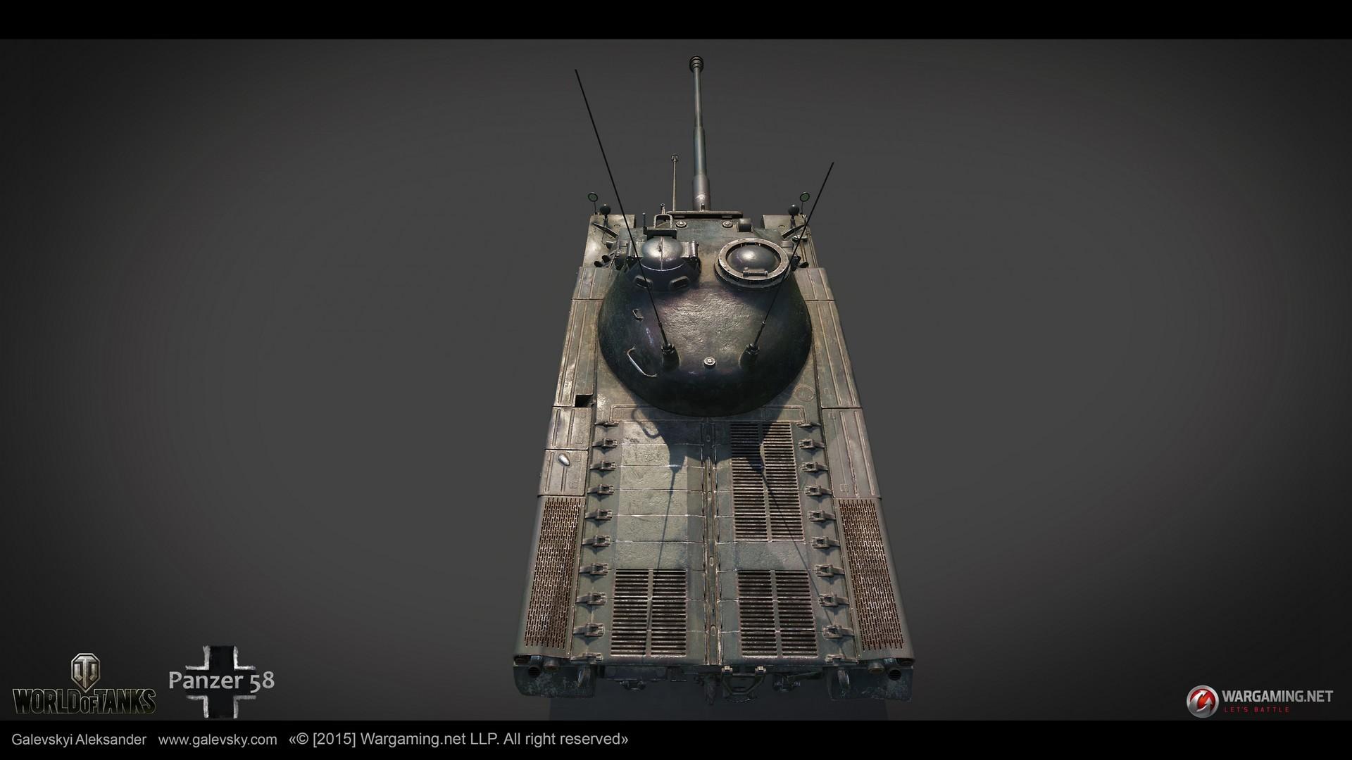 Aleksander galevskyi panzer 58 10 med