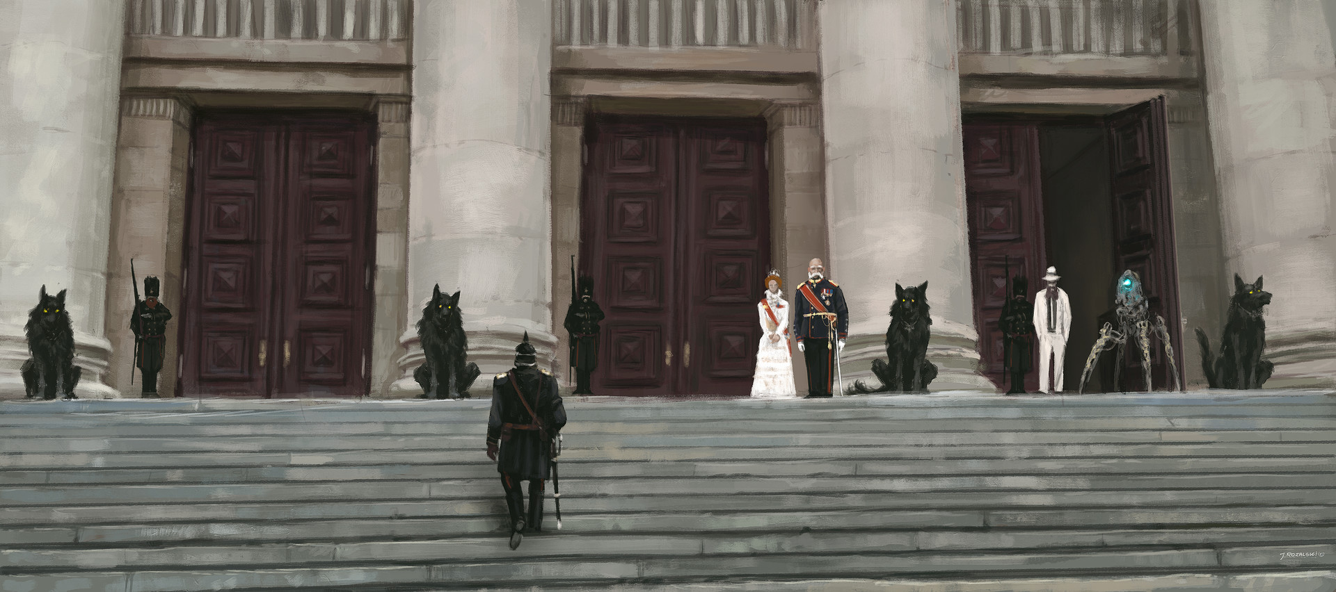 Jakub rozalski foundations of the empires