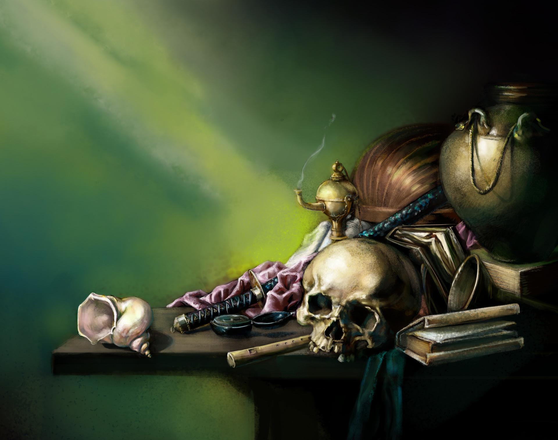 Bighead pei skull
