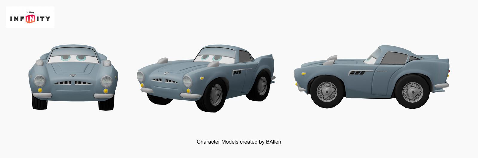 Finn McMissile character model by BAllen