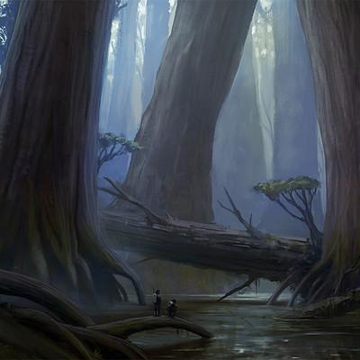 Thomas wievegg giant swamp concept