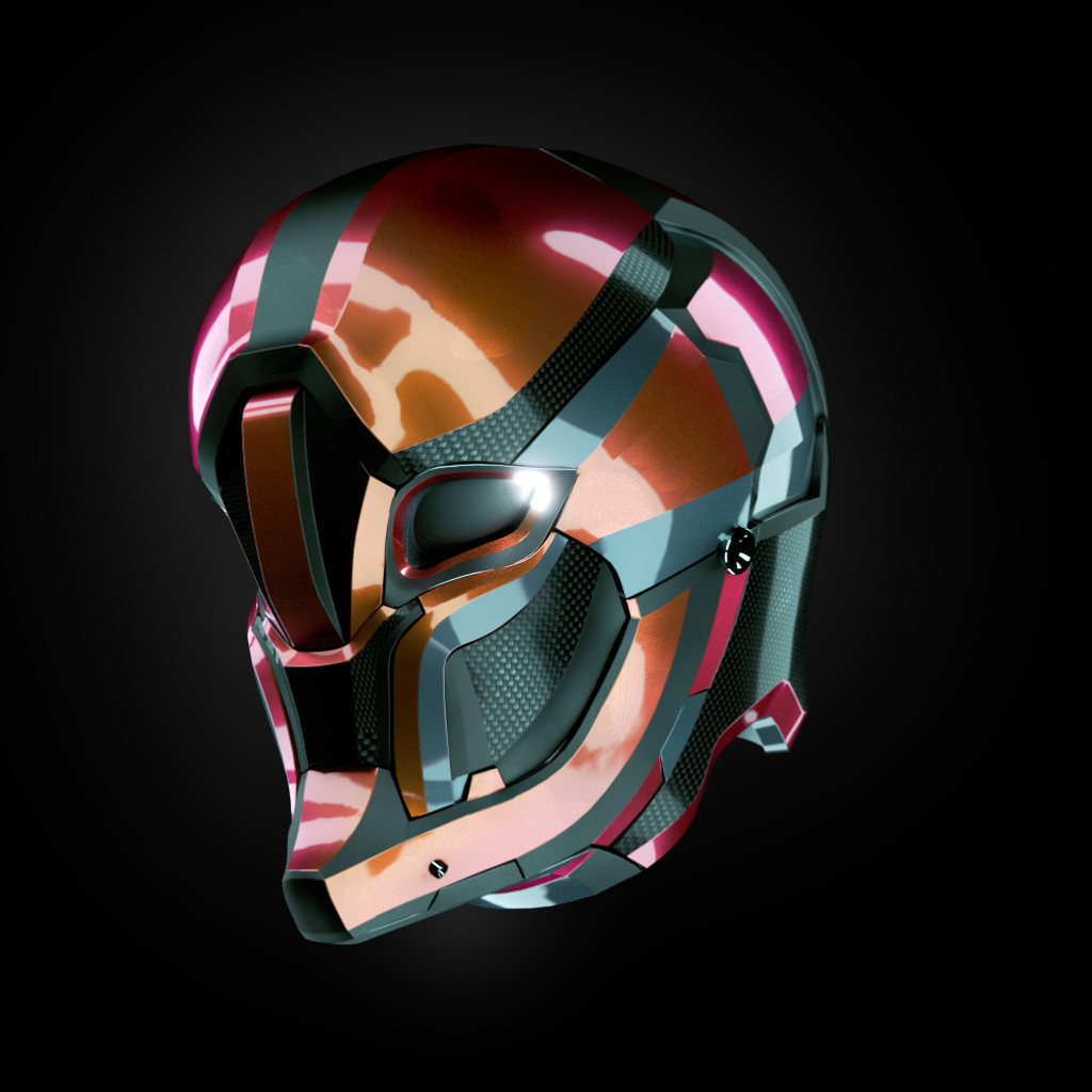 Jerry perkins mx1001 helmet