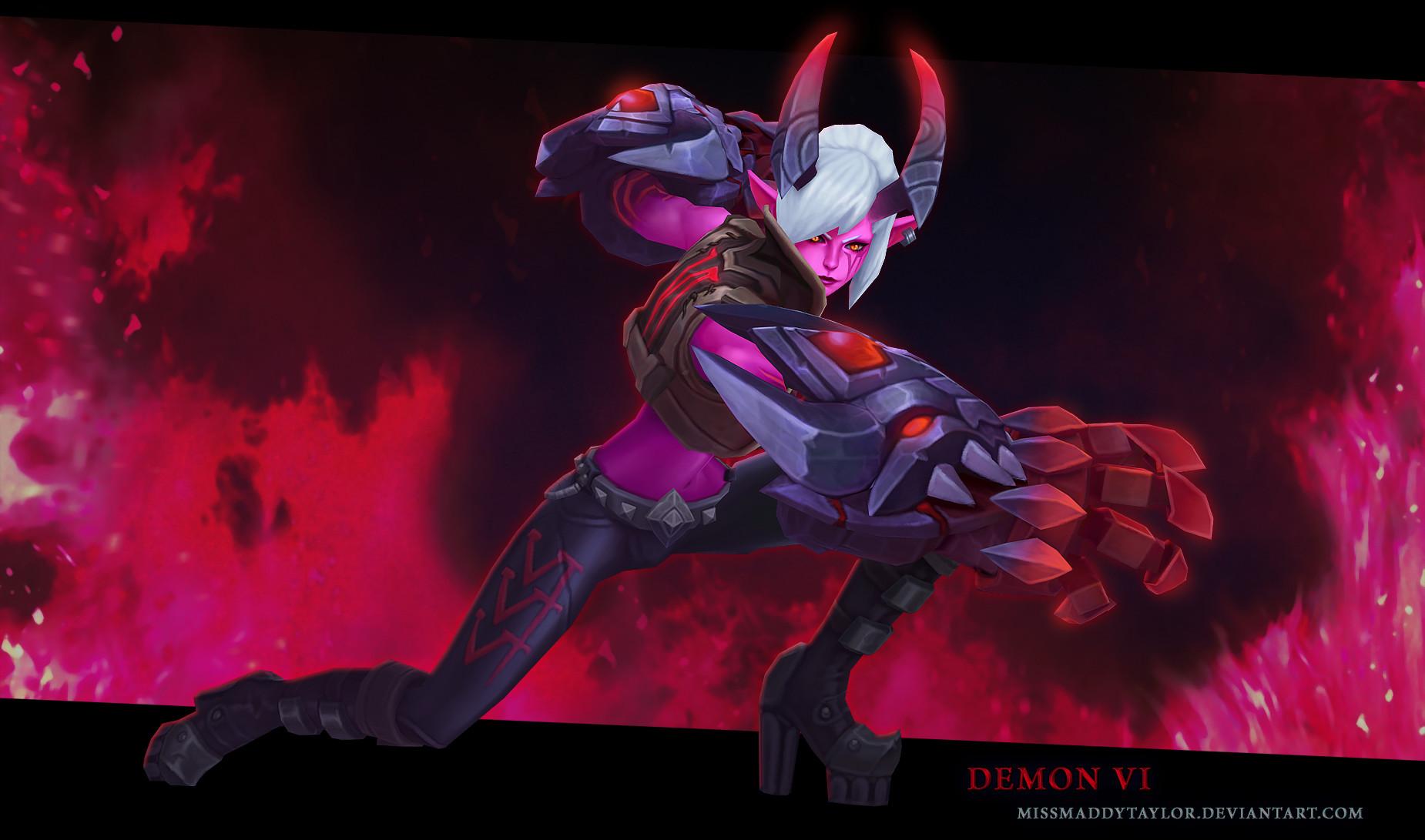 Maddy taylor kenyon demonvi 1