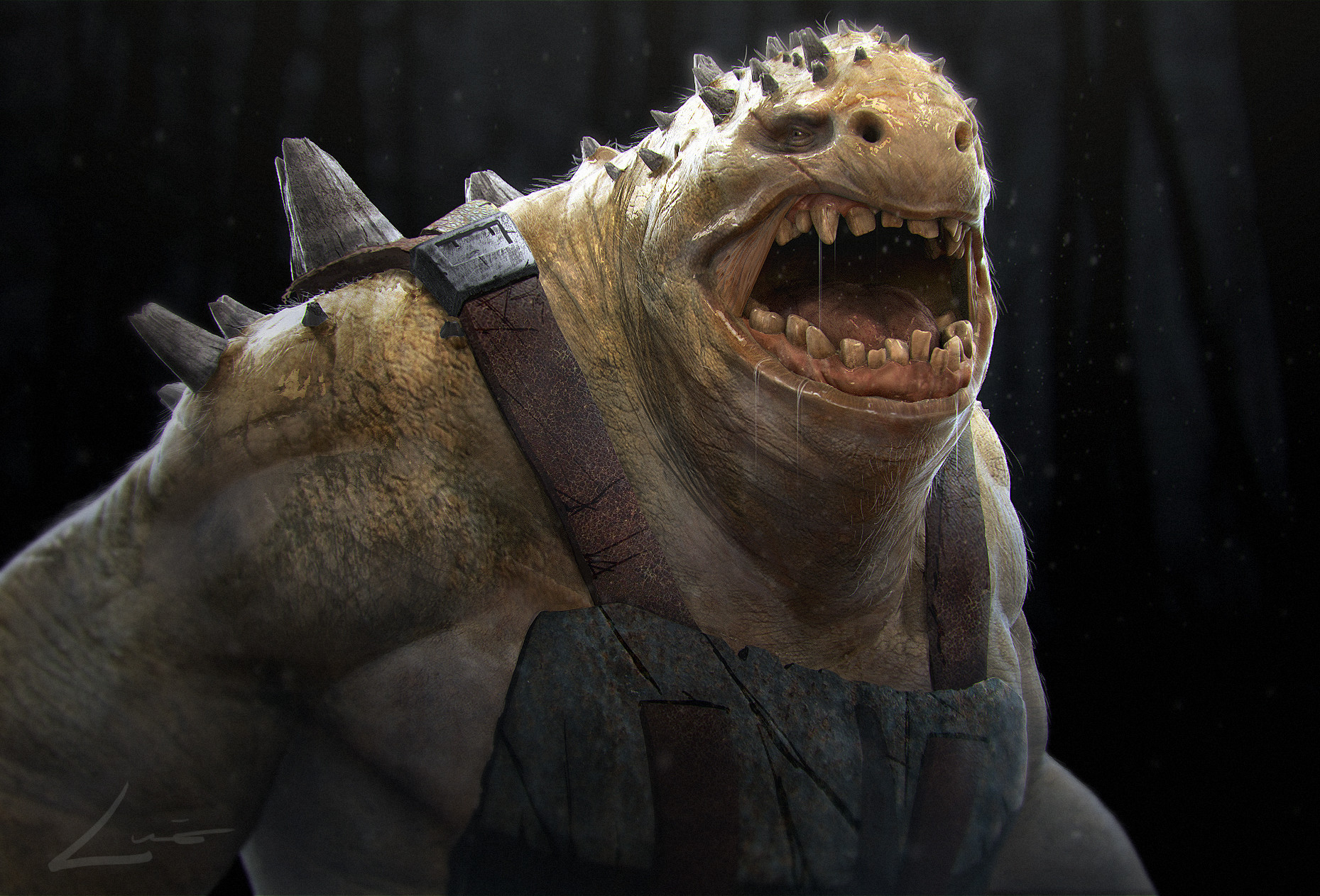 Luis carrasco 3d creature design
