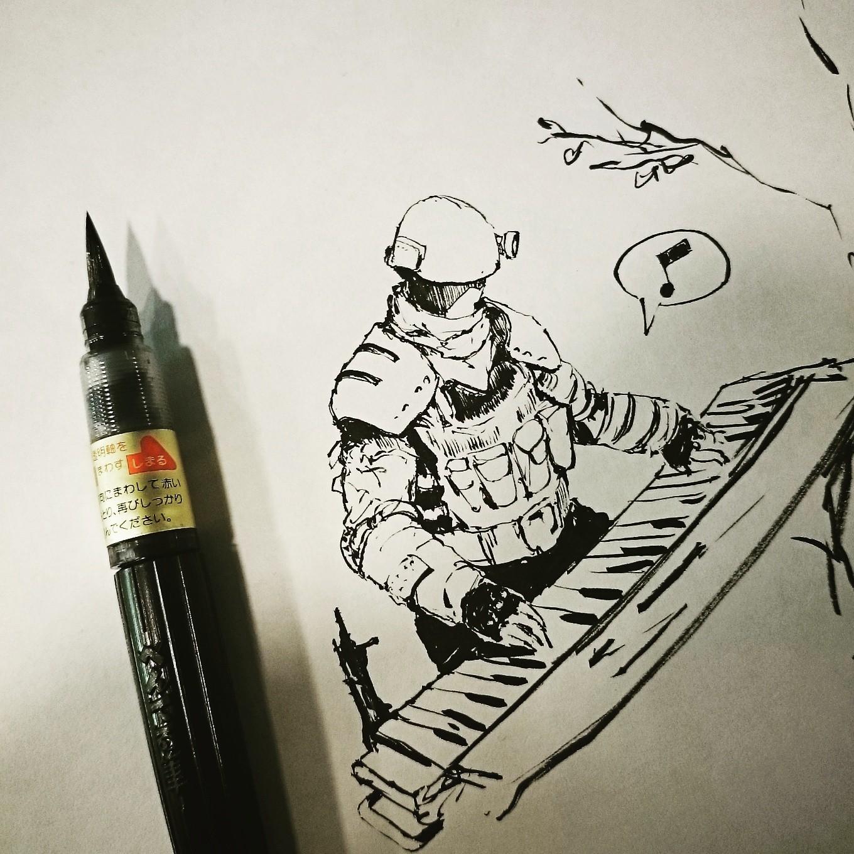 Ink Sketch 1