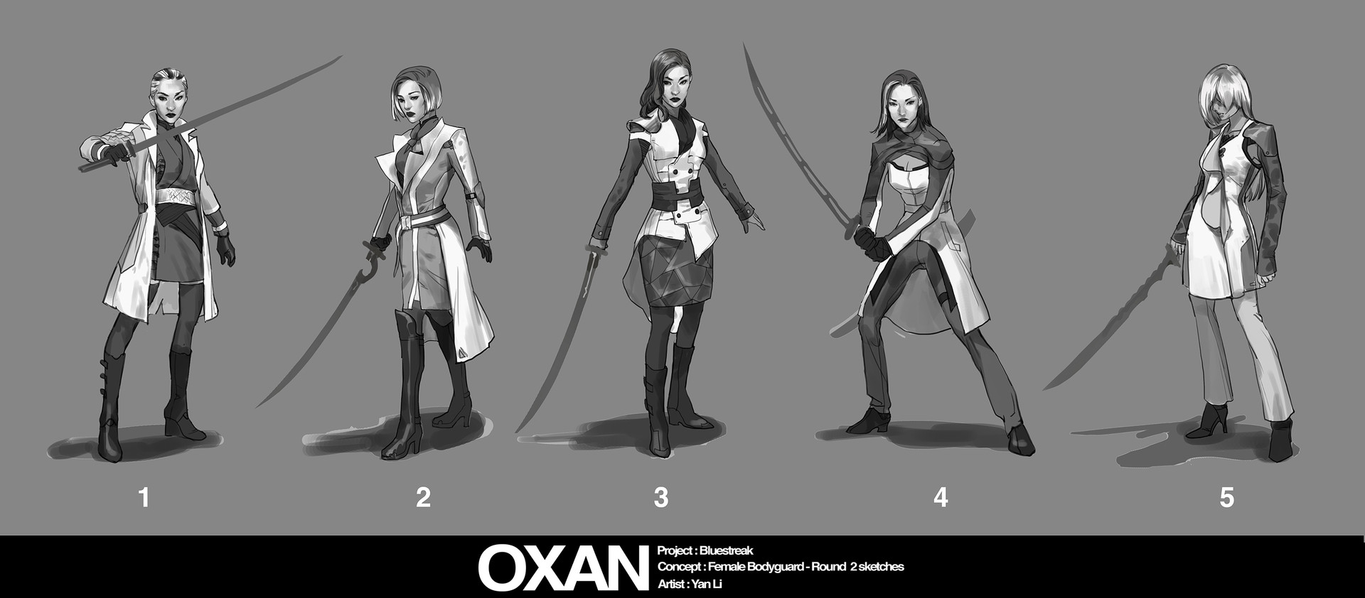 Boss key productions concept art depository female bguard sketch02