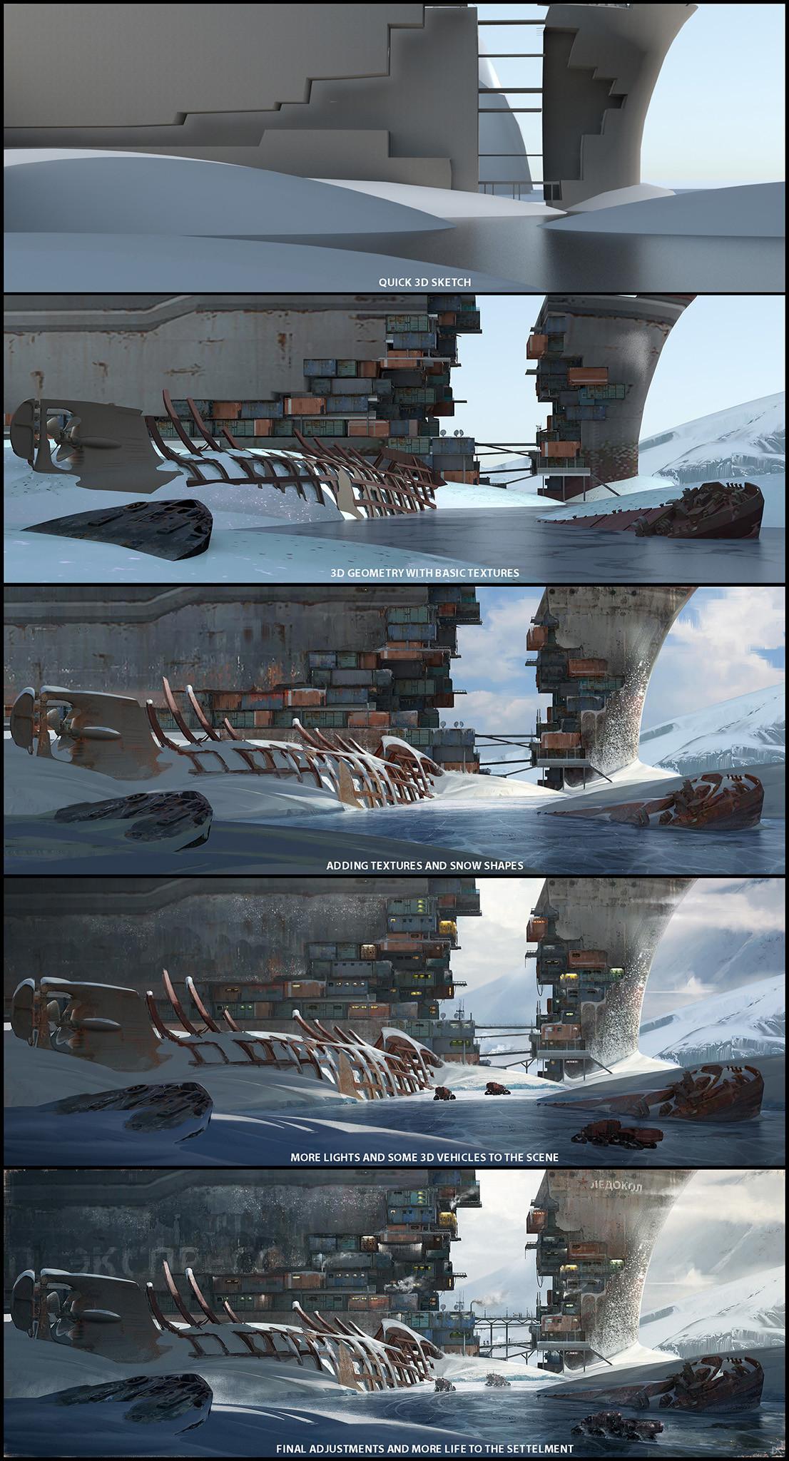 Darius kalinauskas step by step ice fortress