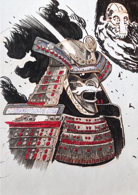 Konrad langa samurai day9