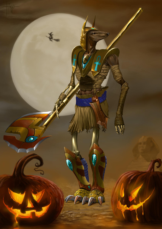 Thiago hellinger nasus hallowen14 modificacao