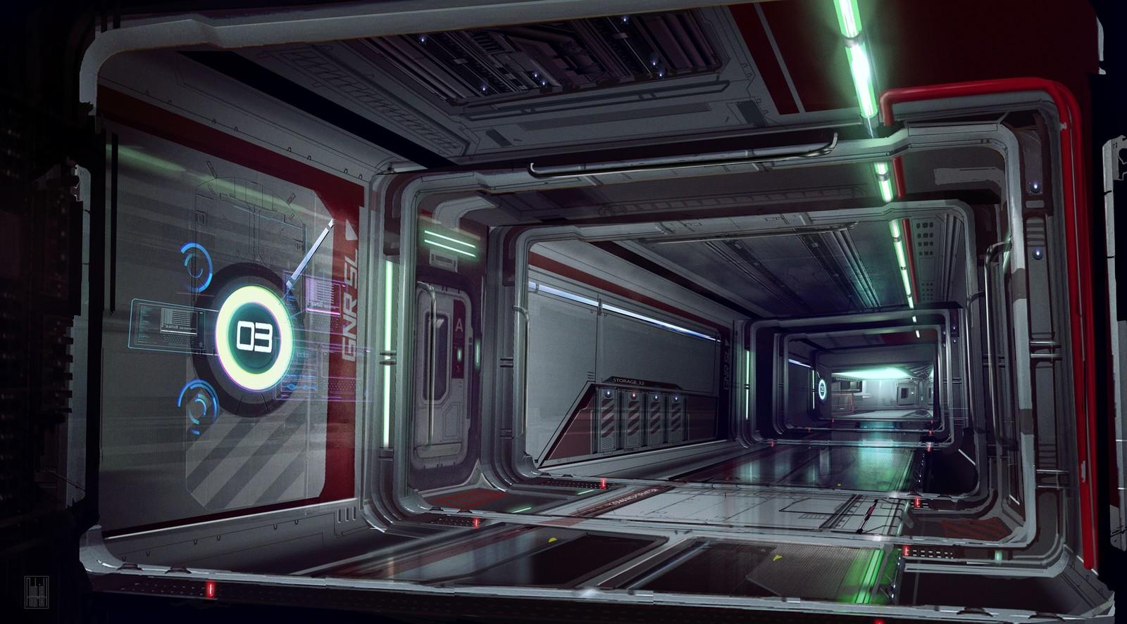 My attempt to redesign The Retaliator interior