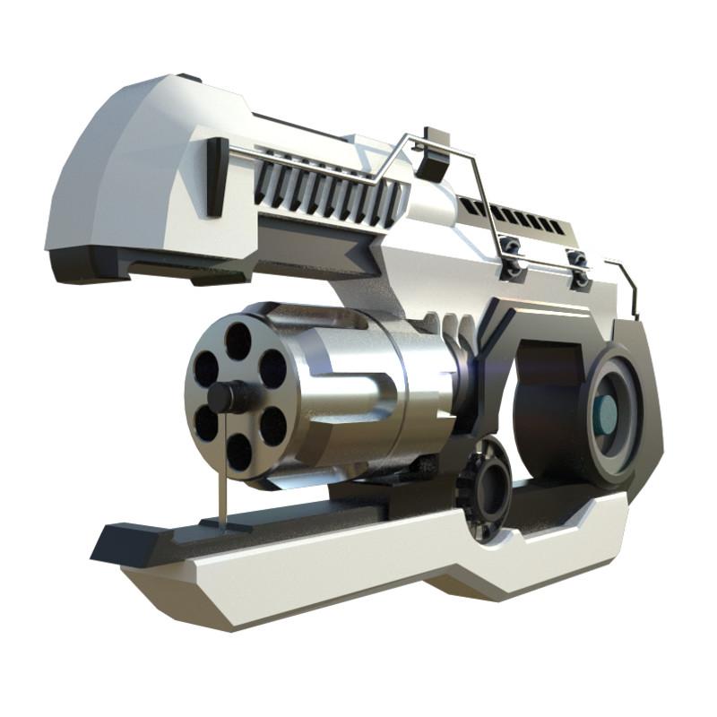 Sci Fi Handgun Concepts