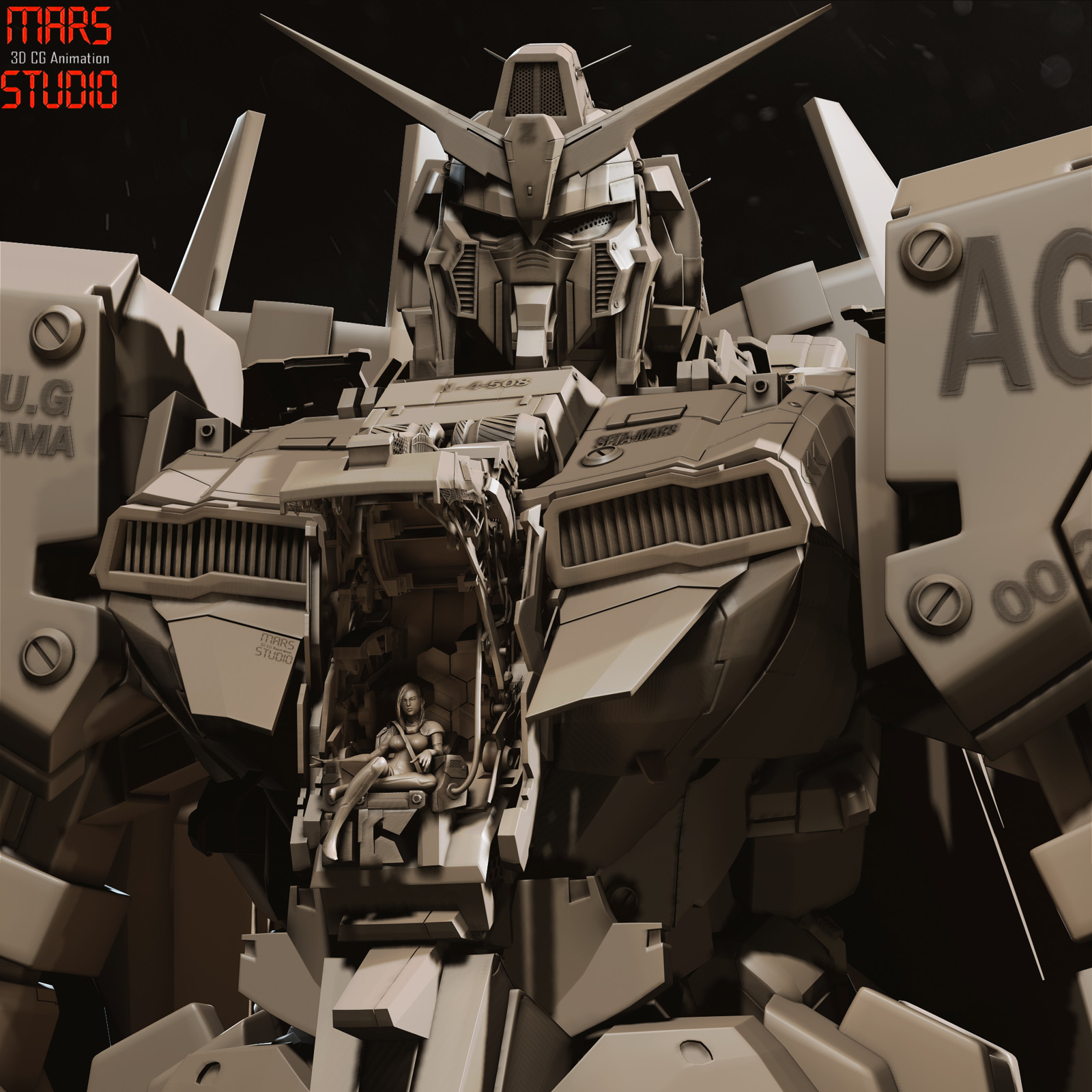 Gundam cockpit