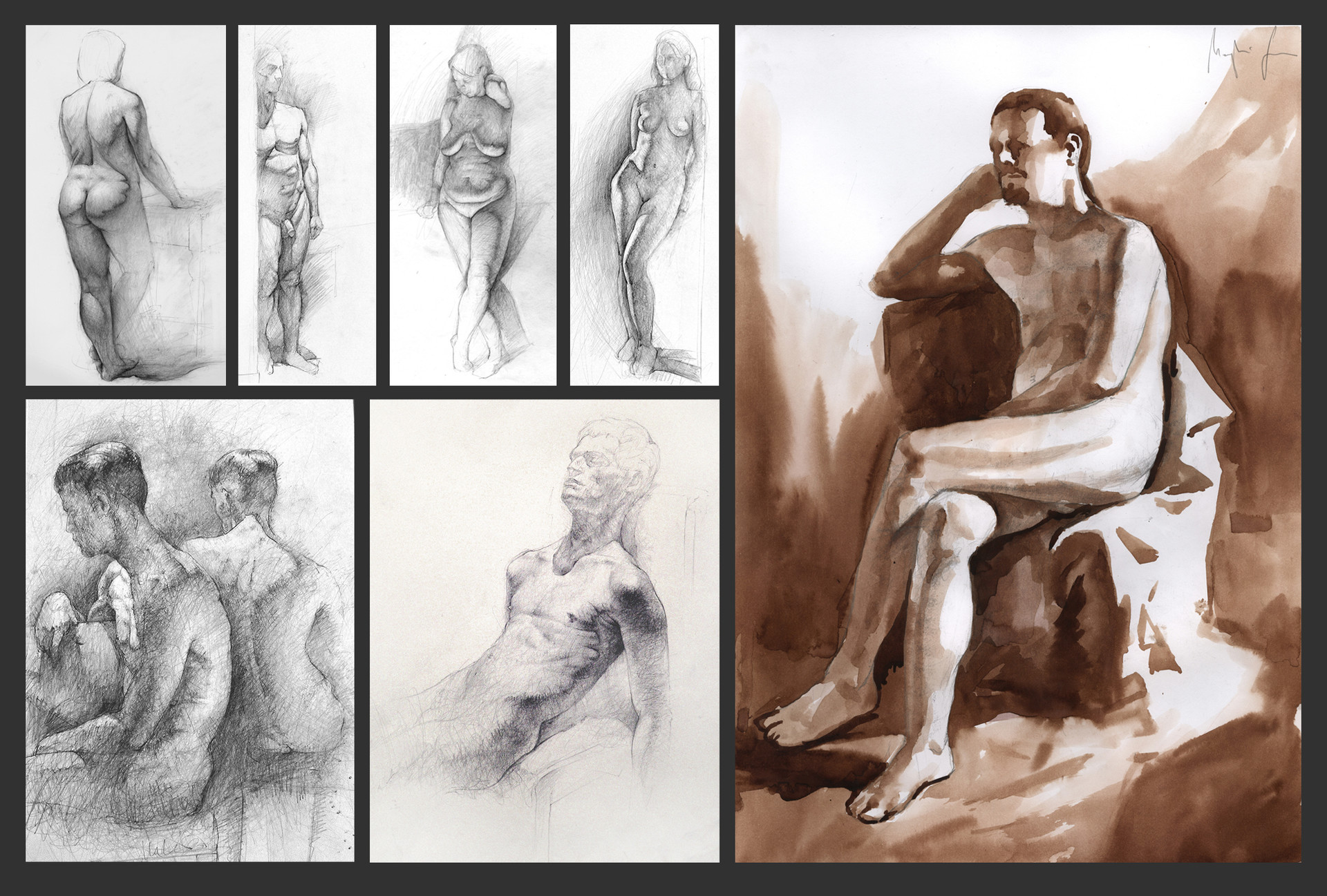 Saby menyhei figuredrawing samples